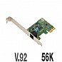 Alternate view 1 for USRobotics USR5638 56K V.92 PCI Express Faxmodem