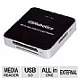 Alternate view 1 for USRobotics USB 3.0 All-In-One Card Reader