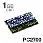 Alternate view 1 for Ultra 1024MB PC2700 SODIMM Laptop Memory