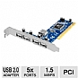 Alternate view 1 for Ultra USB 2.0 PCI Card