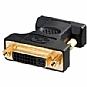 Ultra VGA Male TO DVI Female Adapter (HD15/M TO DVI-I/F), Gold Plated