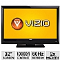 "Alternate view 1 for Vizio E321VL 32"" 720p 60Hz LCD HDTV Refurb"