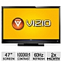 "Alternate view 1 for Vizio E470VLE 47"" Class Widescreen LCD HDTV"
