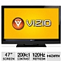 "Alternate view 1 for Vizio E3D470VX 47"" Class 3D LCD HDTV"