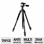 Alternate view 1 for Vanguard Espod 203AP Aluminum Tripod