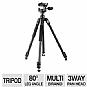 Alternate view 1 for Vanguard 203AP Espod Plus Aluminum Tripod