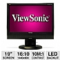 "Alternate view 1 for Viewsonic VG1932wm-LED 19"" Widescreen LED Monitor"