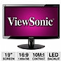 "Viewsonic VA1938wa-LED 19"" Class Widescreen LED Backlit Monitor"