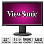 "Alternate view 1 for Viewsonic VG2228wm-LED 22"" Widescreen LED Monitor"