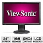 "ViewSonic VG2428wm 24"" Class Widescreen LCD Monito"