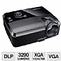 Viewsonic PJD6241 XGA DLP 3D Projector - 3200 ANSI Lumens, 1024x768, 2800:1 Dynamic, 4:3 Native, 6.11 lb (Refurbished)
