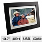 "Alternate view 1 for Viewsonic 10.2"" LCD Digital Photo Frame"