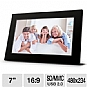 Alternate view 1 for Viewsonic VFA720W-50 7&quot; Digital Photo Frame 