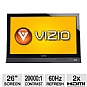 "Alternate view 1 for Vizio M260VA 26"" 720p 60Hz LED HDTV"