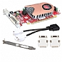 Alternate view 1 for Visiontek Radeon HD 4350 512MB DMS-59 Low Profile