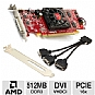 Alternate view 1 for VisionTek Radeon HD 5450 SSF 512MB DDR3 VHDCI LP