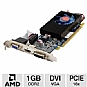 Alternate view 1 for VisionTek Radeon HD 5550 1GB DDR2 Video Card