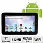 Alternate view 1 for Velocity Micro T103 Cruz Android 2 Internet Tablet
