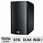 WD My Book Live Duo 6TB Personal Cloud Nas