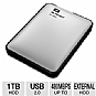WD My Passport for Mac 1TB Portable Hard Drive