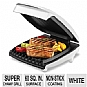Alternate view 1 for George Foreman Super Champ White 4 Burger Grill