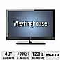 "Alternate view 1 for Westinghouse LD-4055 40"" Class LED HDTV"