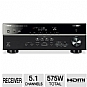 Alternate view 1 for Yamaha RX-V473BL 5.1 Channel Digital A/V Receiver