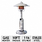 Alternate view 1 for Blue Rhino Stainless Steel Outdoor LP Gas Heater