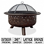 Alternate view 1 for Blue Rhino 36&quot; Outdoor Firebowl