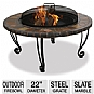 Alternate view 1 for Blue Rhino 22&quot; Outdoor Firebowl