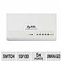 Alternate view 1 for ZyXEL ES105S Desktop 5 Port Ethernet Switch 