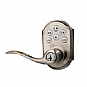 Alternate view 1 for Zwave Kwikset Motorized Satin Nickel Door Lever