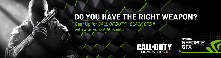 Do you have the right weapon? Gear up for Call of Duty Black Ops II