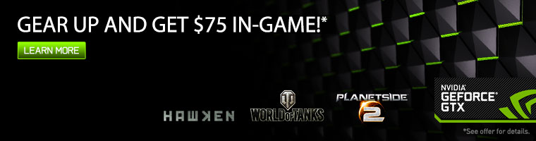 GEAR UP AND GET $75 IN-GAME!*