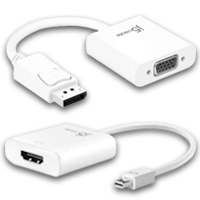 Displayport, Adapters & Splitters