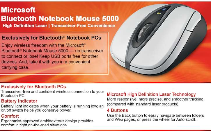 Microsoft Mouse 1000 Instructions Change Battery