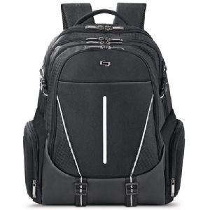 SOLO Rival Backpack – Fits 17.3 Laptop Fully padded Internal iPad/Tabl