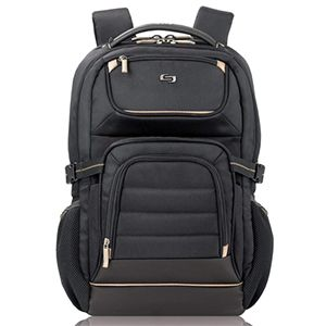 Solo NY Link Collection Arc 17.3 Laptop Backpack Black – PRO742-4