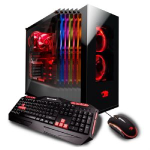 iBUYPOWER Element 041i Gaming Desktop PC – 8th Gen Intel Core i7-8700