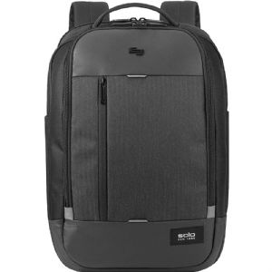 Solo New York Laptop Backpack Solid Black – GRV700-4