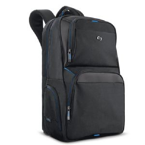 SOLO Thrive Backpack – Fits Up to 17.3 Laptops Polyester Two Front Poc