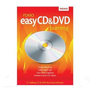 Sonic Solutions Roxio Easy CD & DVD Burning – Box pack – 1 user – Win