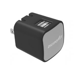Digipower – Power adapter – 3.4 A – 2 output connectors ( USB (power o