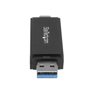 StarTech.com USB 3.0 Memory Card Reader/Writer for SD and microSD Card