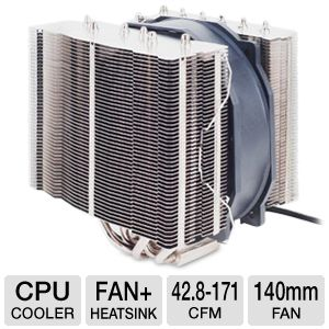 SilverStone HE01 CPU Cooler – For CPUs Up To 300W Silent Heat-pipe Coo