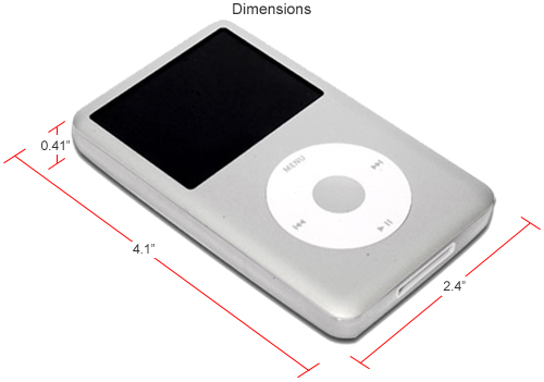 apple ipod classic 80gb mp3 player silver at. Black Bedroom Furniture Sets. Home Design Ideas
