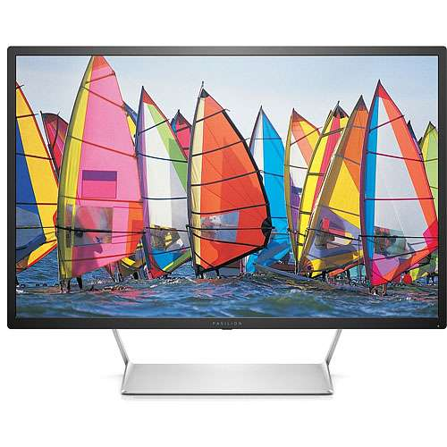 "Alternate view 2 for HP Pavilion 32"" QHD 2560x1440 7ms LED-LCD Monitor"