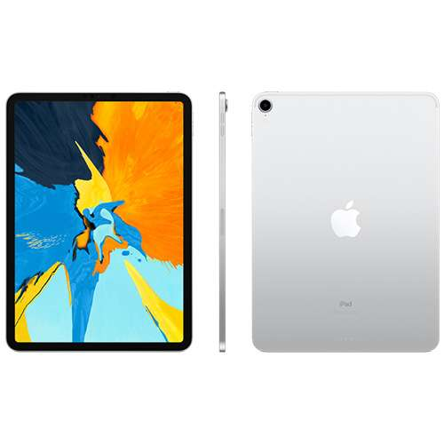 "Alternate view 3 for Apple 11"" iPad Pro Wi-Fi 512GB - Silver"