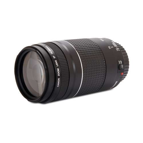 Alternate view 5 for Canon EF 75-300MM F/4-5.6 III Lens