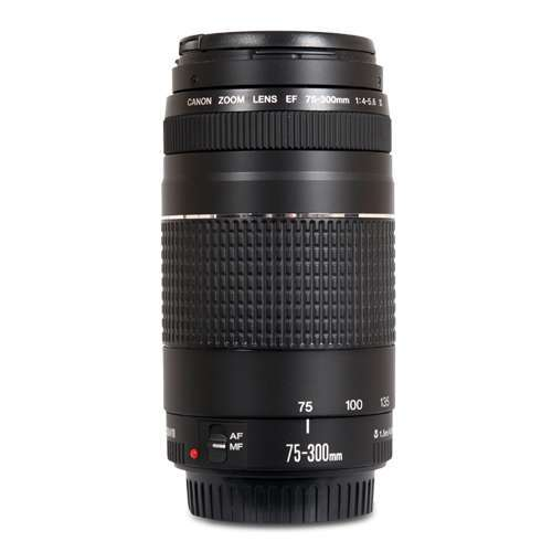 Alternate view 6 for Canon EF 75-300MM F/4-5.6 III Lens